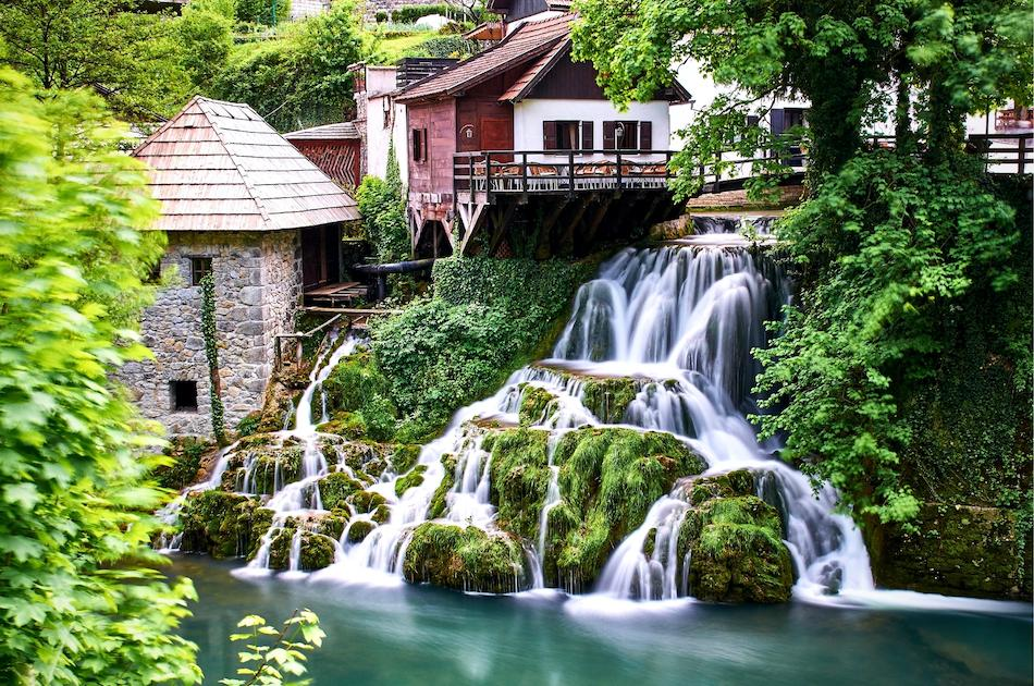 Rastoke Waterfall Croatia - hidden gem in Croatia