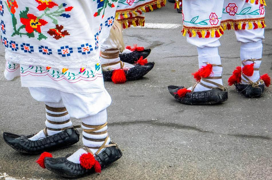 Romanian souvenirs, things to buy from romania, romanian gift ideas, romanian traditional shoes, romanian opinci