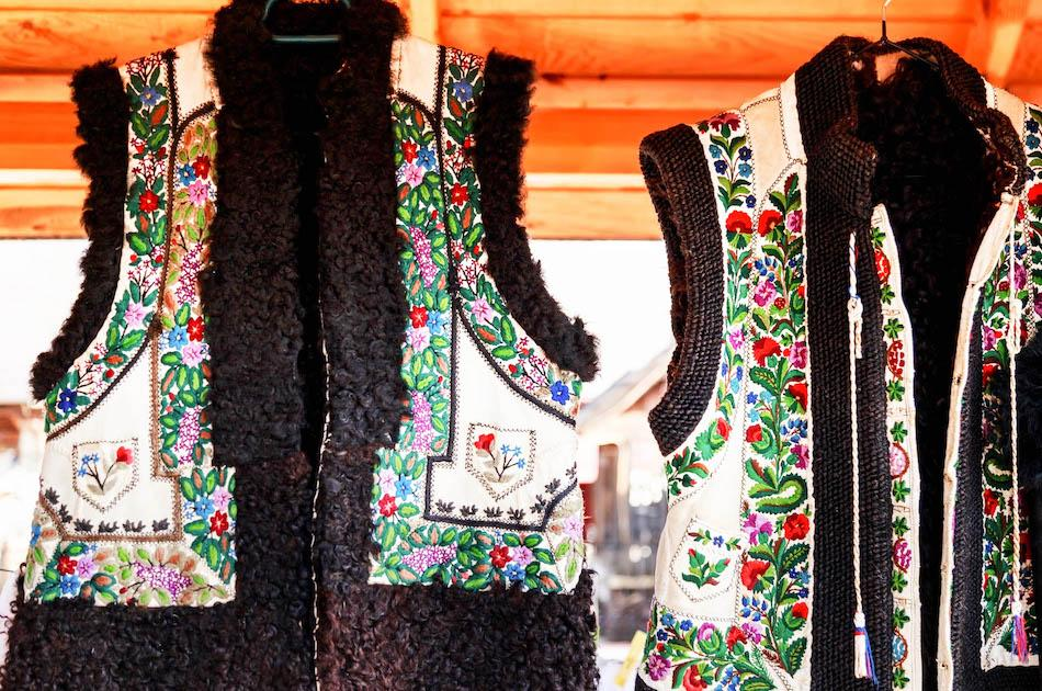Romanian souvenirs, things to buy from romania, romanian gift ideas, romanian traditional vests