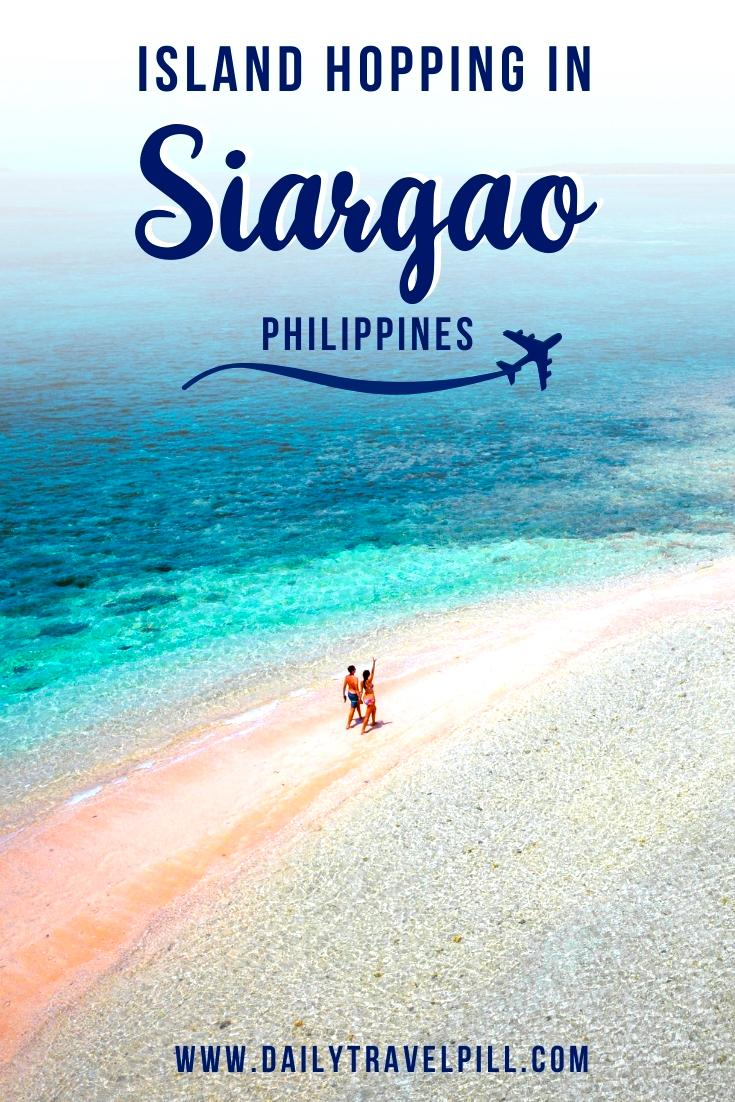 Island Hopping in Siargao - Daku Island, Guyam Island, Naked Island. Islands near siargao, siargao island tour