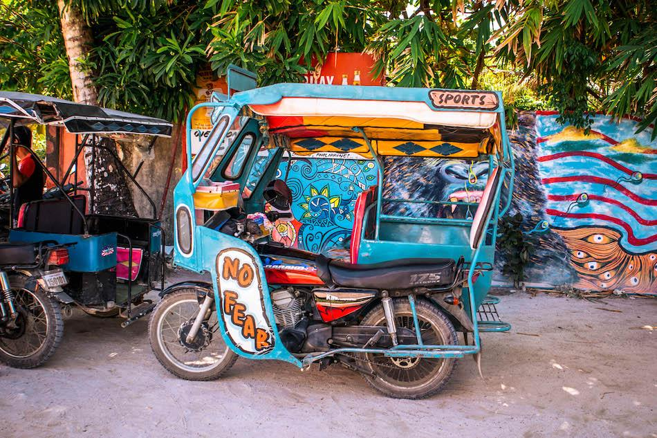Tricycle in Siargao, Philippines
