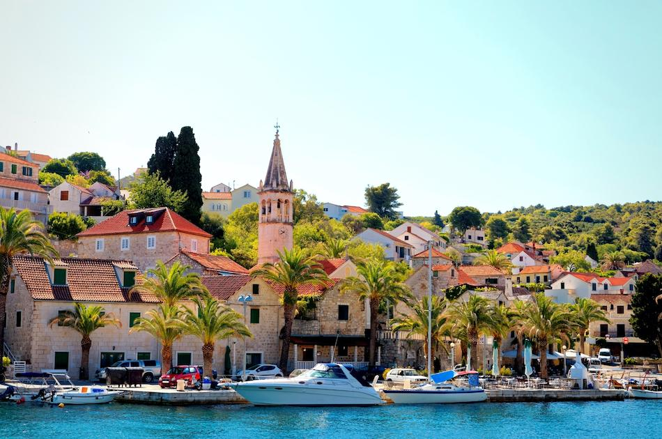 Splitska Town Croatia - off-the-beaten-path