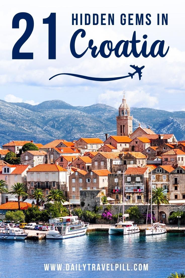 hidden gems in Croatia