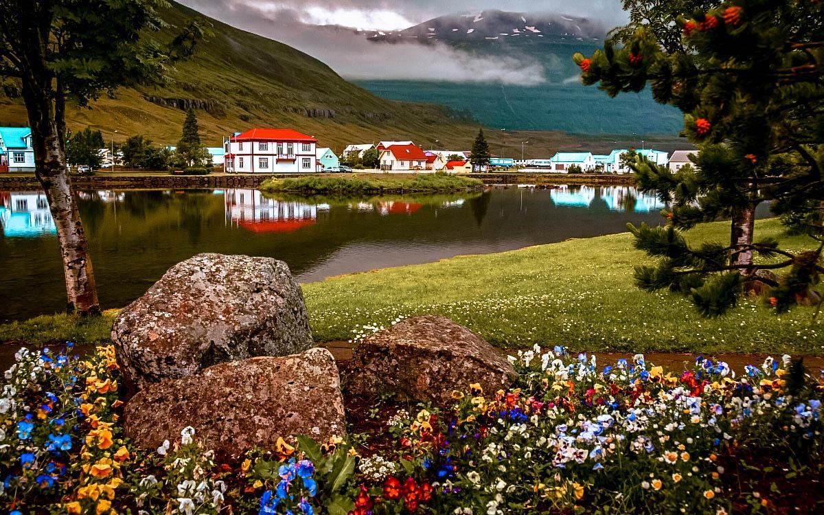 Seydisfjordur Art Village Iceland