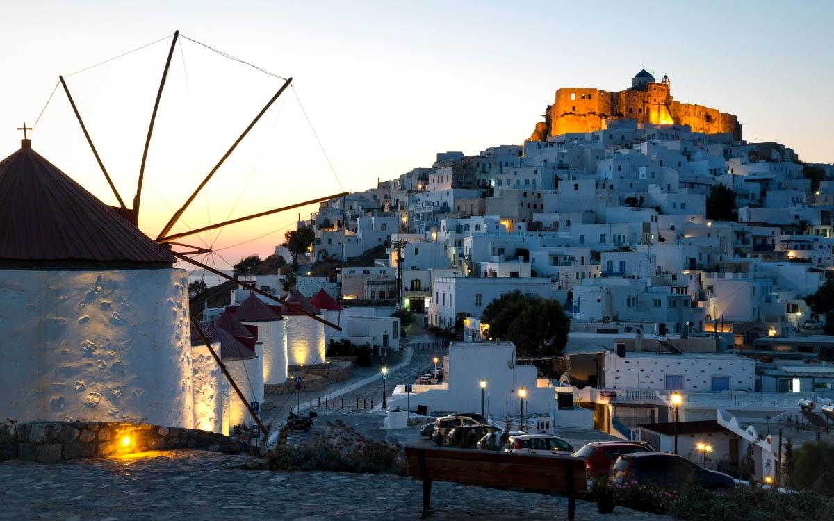 Astypalaia Castle, Greece - the most beautiful castles in Europe, fairytale castles in Europe, top castles in Europe, must-visit castles in Europe. unique castles in Europe