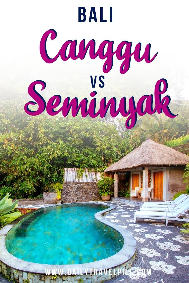 Canggu or Seminyak comparison