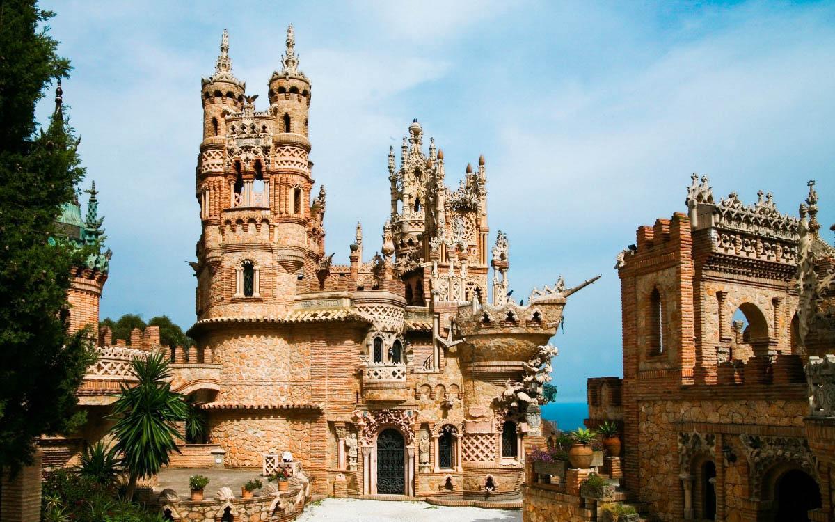 Castillo de Colomares, Spain - top castles in europe, beautiful castles in Europe