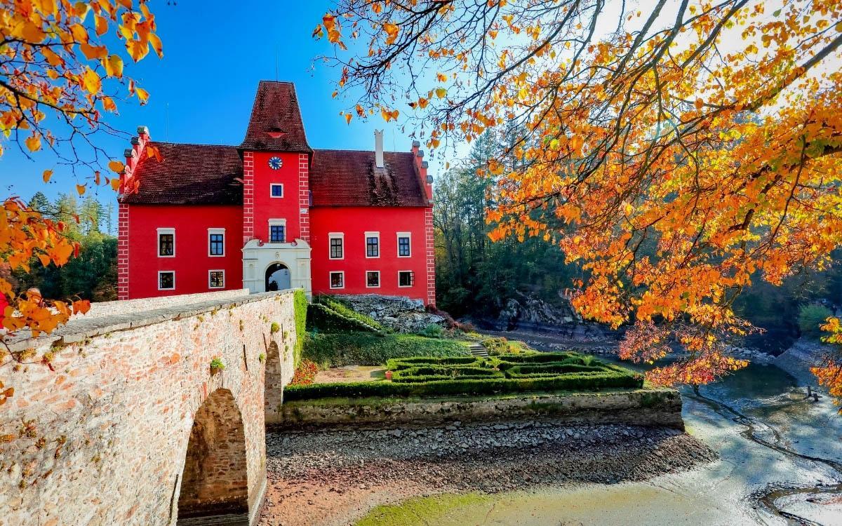 Cervena Lhota Chateau, Czech Republic - the most beautiful castles in Europe, fairytale castles in Europe, top castles in Europe, must-visit castles in Europe. unique castles in Europe