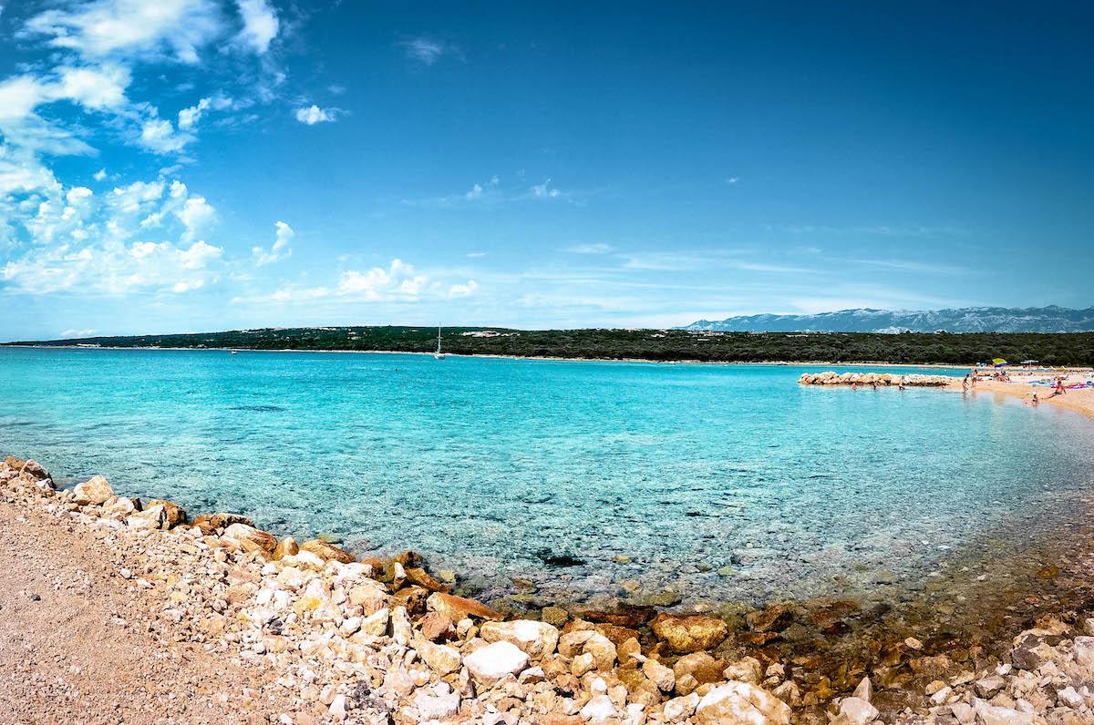 Cista Beach Pag Island