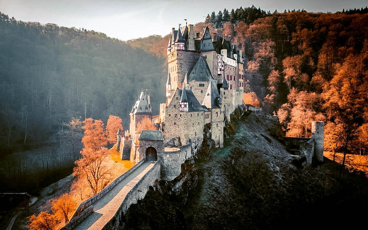 Eltz Castle, Germany - the most beautiful castles in Europe, fairytale castles in Europe, top castles in Europe, must-visit castles in Europe. unique castles in Europe