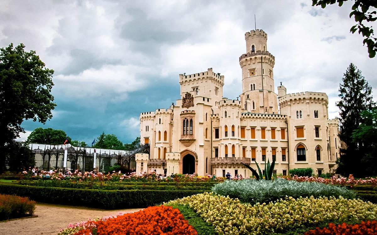 Hluboka Nad Vltavou Castle, Czech Republic - the most beautiful castles in Europe, fairytale castles in Europe, top castles in Europe, must-visit castles in Europe. unique castles in Europe