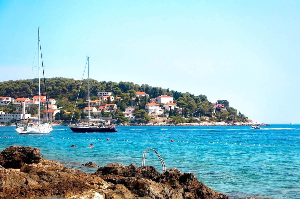 Hula Hula Beach Bar - best beaches in croatia, top beaches in croatia, most beautiful beaches in croatia, hidden beaches in croatia