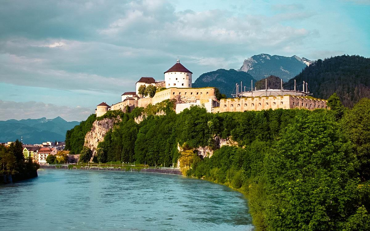 Kufstein Fortress Austria - the most beautiful castles in Europe, fairytale castles in Europe, top castles in Europe, must-visit castles in Europe. unique castles in Europe.