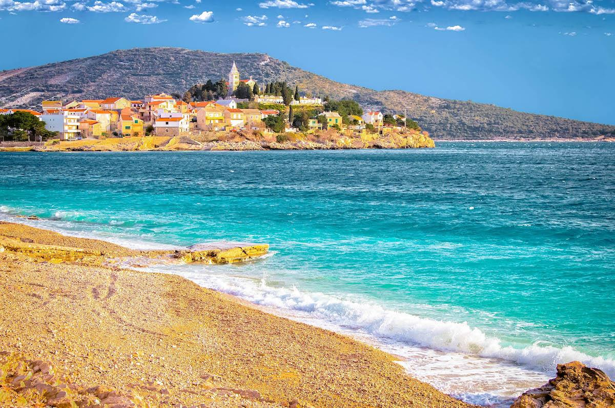 Mala Raduca Beach near Primosten - best beaches in croatia, top beaches in croatia, most beautiful beaches in croatia, hidden beaches in croatia