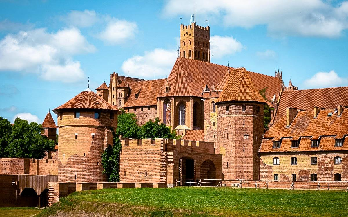 Malbork Castle Poland - famous European castles