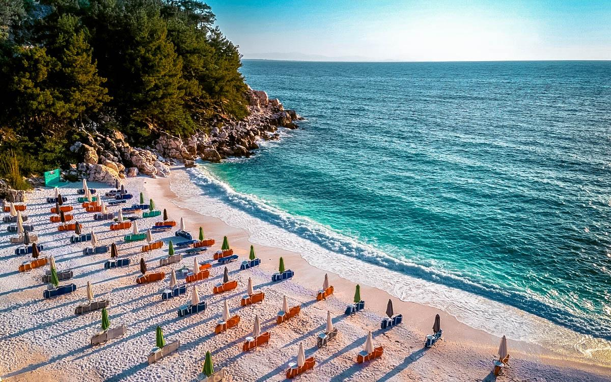 Marble Beach Thassos, Saliara Beach Thassos