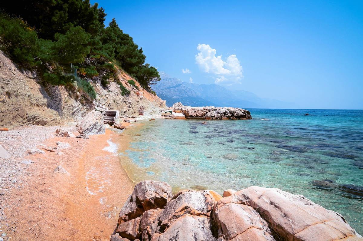 Marusici beach in Croatia, best beaches in croatia, top beaches in croatia, most beautiful beaches in croatia, hidden beaches in croatia