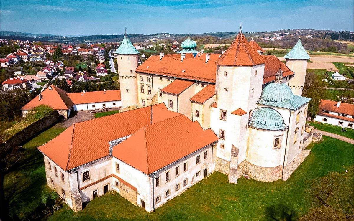 Nowy Wisnicz Castle Poland
