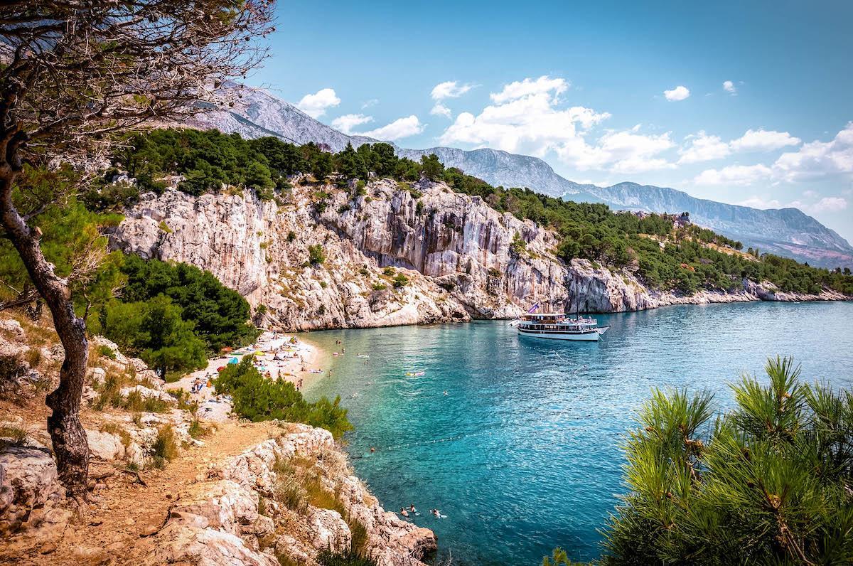 Nugal Beach Makarska - best beaches in croatia, top beaches in croatia, most beautiful beaches in croatia, hidden beaches in croatia