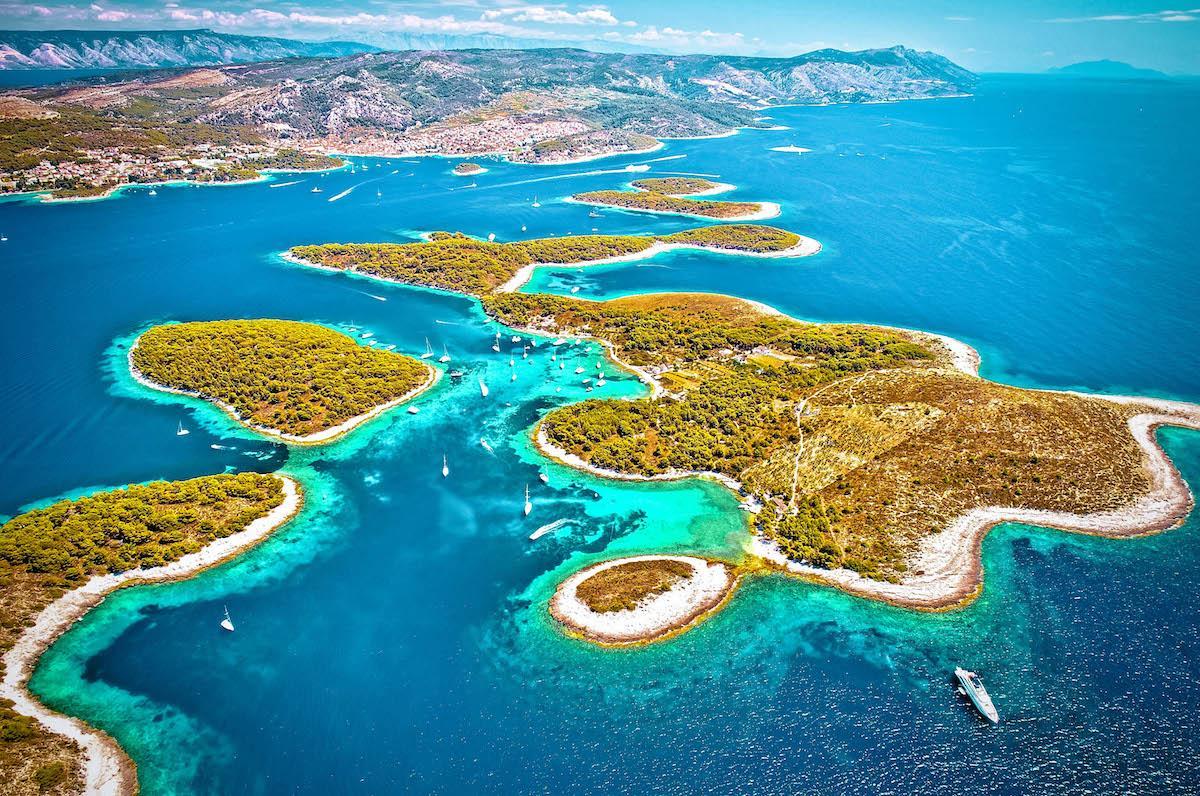 Pakleni Islands Croatia - best beaches in croatia, top beaches in croatia, most beautiful beaches in croatia, hidden beaches in croatia