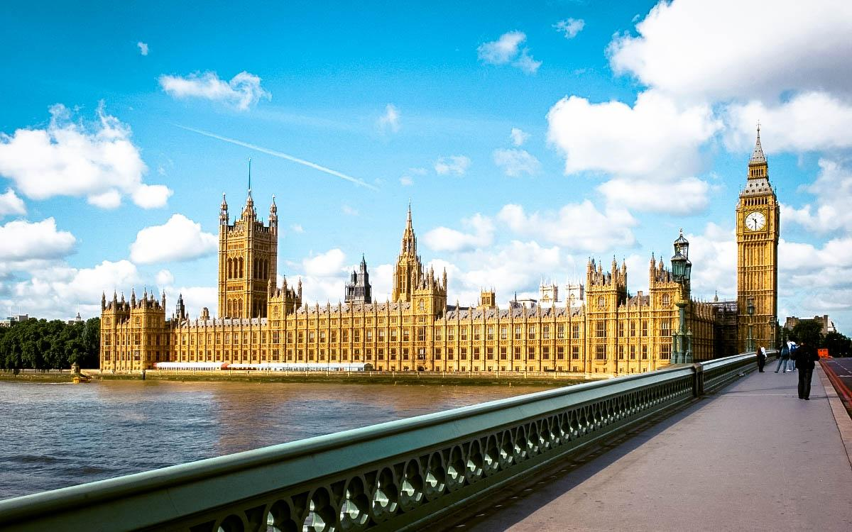 Palace of Westminster, London - the most beautiful castles in Europe, fairytale castles in Europe, top castles in Europe, must-visit castles in Europe. unique castles in Europe