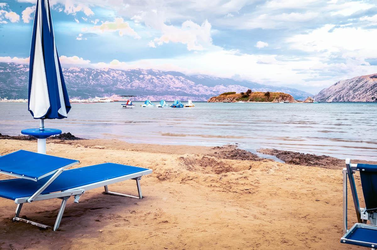 Paradise Beach Rab Island - best beaches in croatia, top beaches in croatia, most beautiful beaches in croatia, hidden beaches in croatia