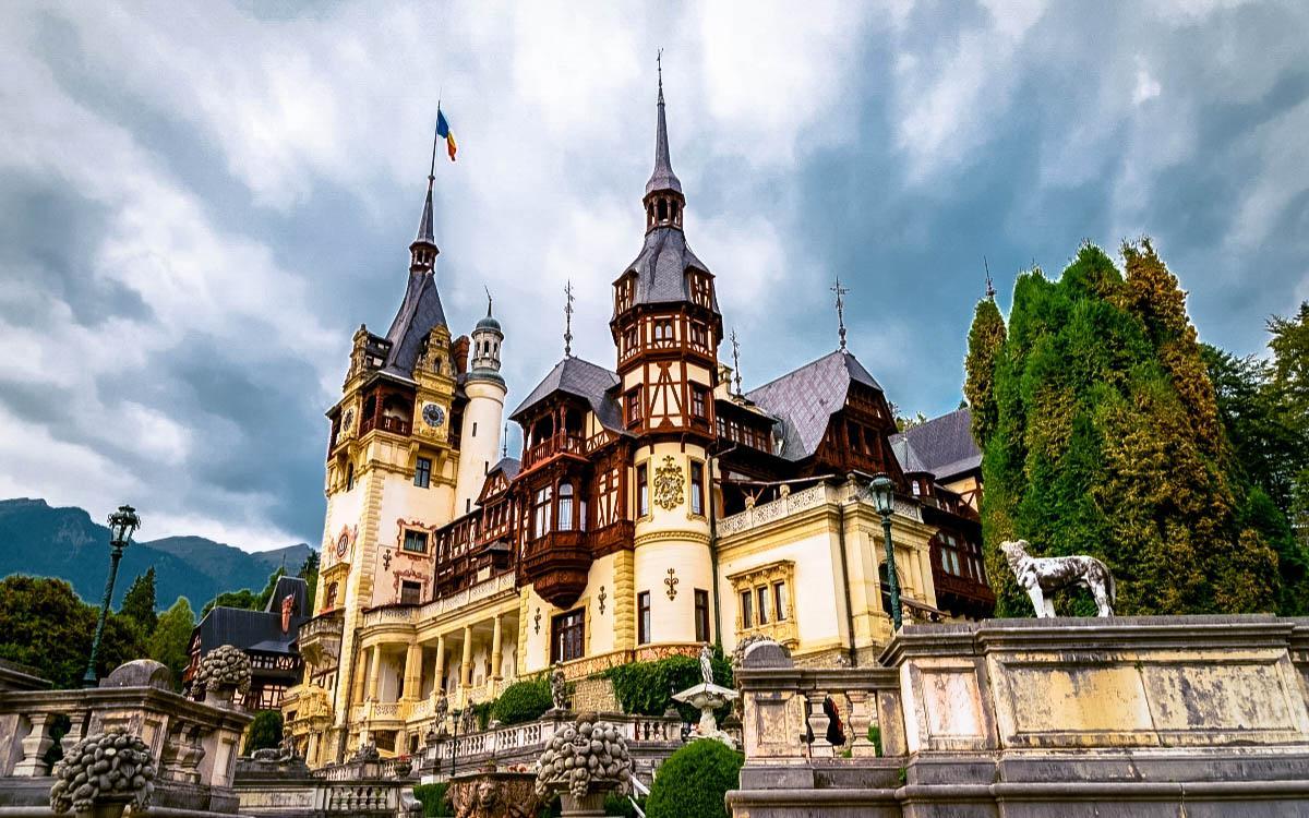 Peles Castle Romania - fairytale castles in Europe, top castles in Europe, hidden castles in Europe