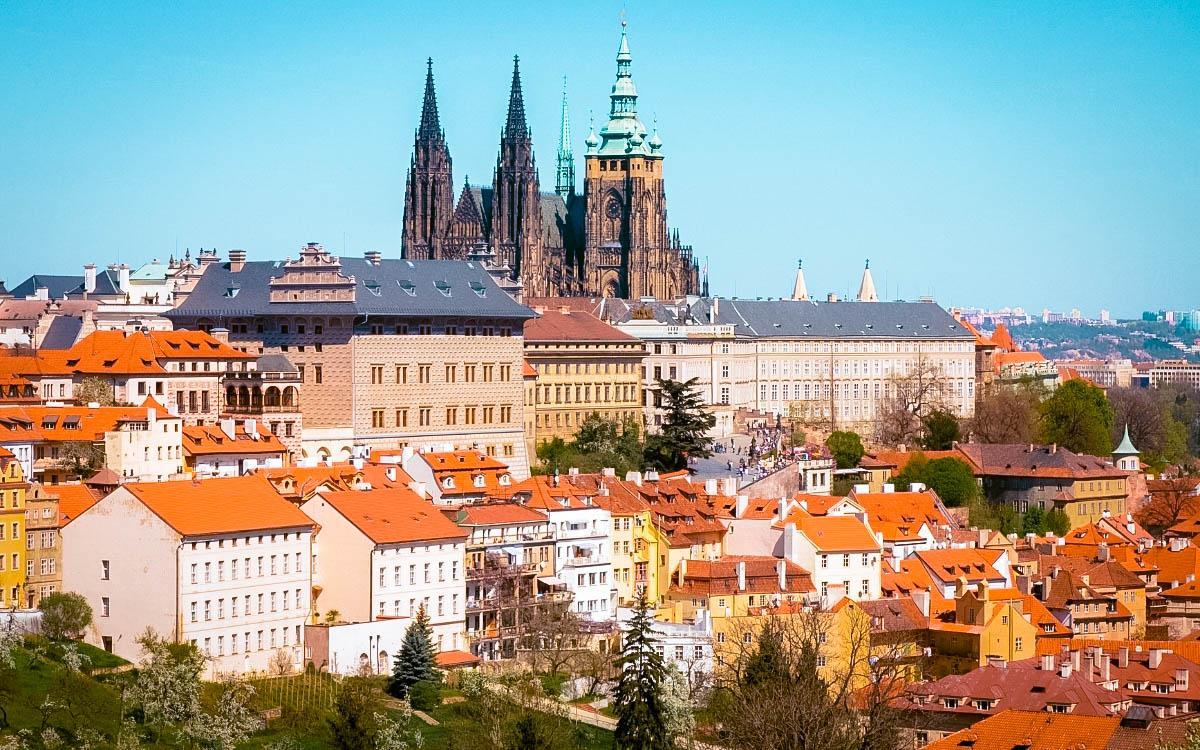 Prague Castle, Czech Republic - the most beautiful castles in Europe, fairytale castles in Europe, top castles in Europe, must-visit castles in Europe. unique castles in Europe