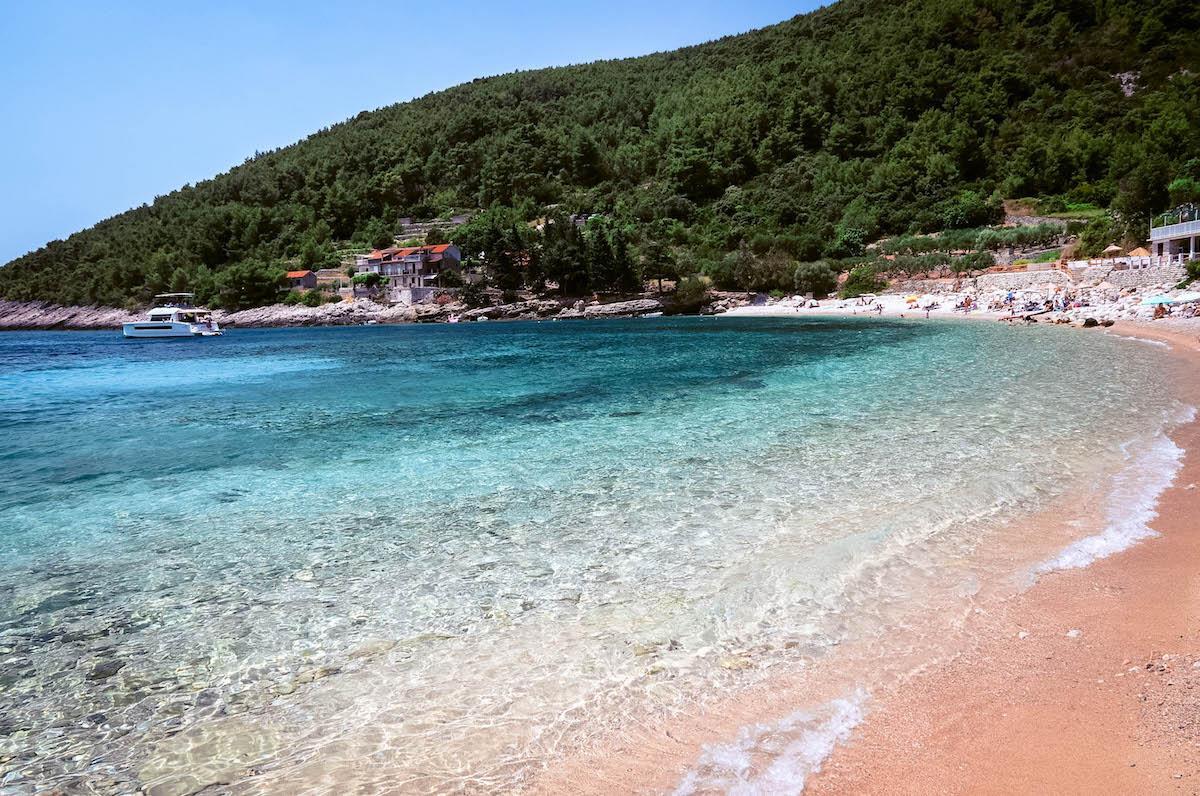 Pupnatska Luka Beach Korcula Island - best beaches in croatia, top beaches in croatia, most beautiful beaches in croatia, hidden beaches in croatia