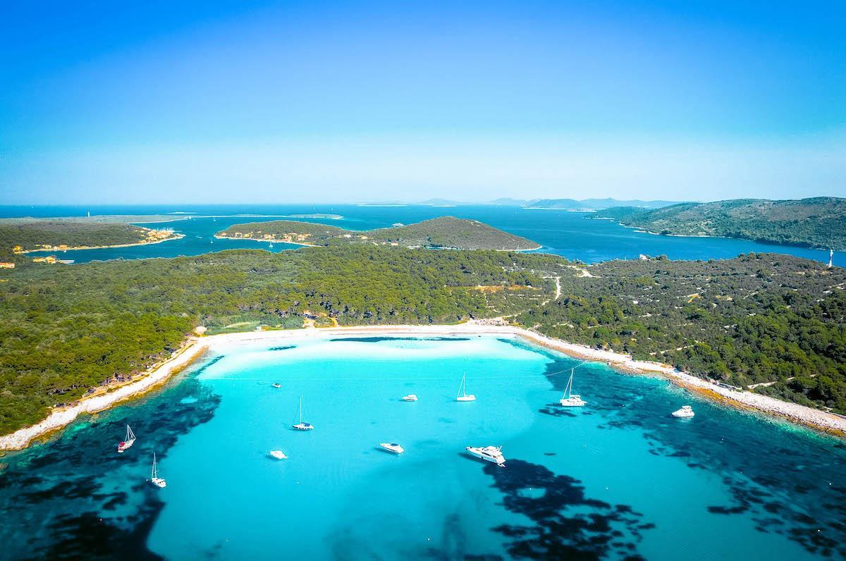 Sakarun Beach Dugi Otok - best beaches in croatia, top beaches in croatia, most beautiful beaches in croatia, hidden beaches in croatia