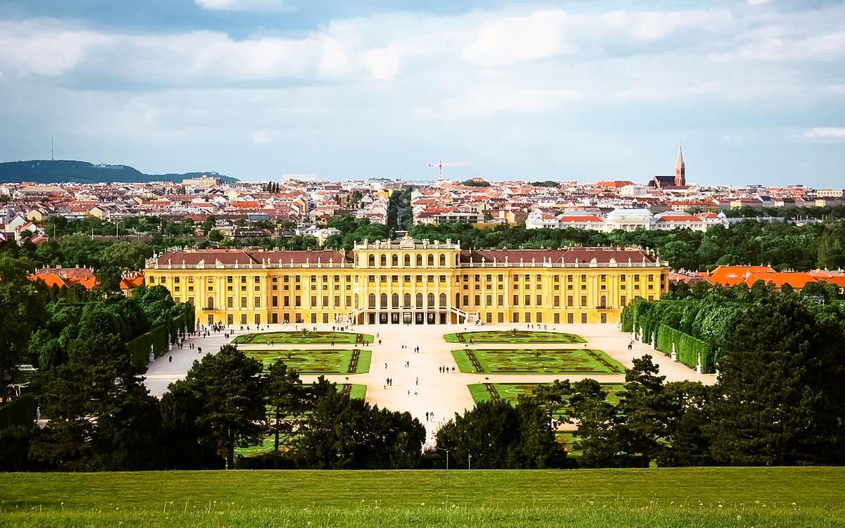 Schonbrunn Palace, Vienna - the most beautiful castles in Europe, fairytale castles in Europe, top castles in Europe, must-visit castles in Europe. unique castles in Europe.
