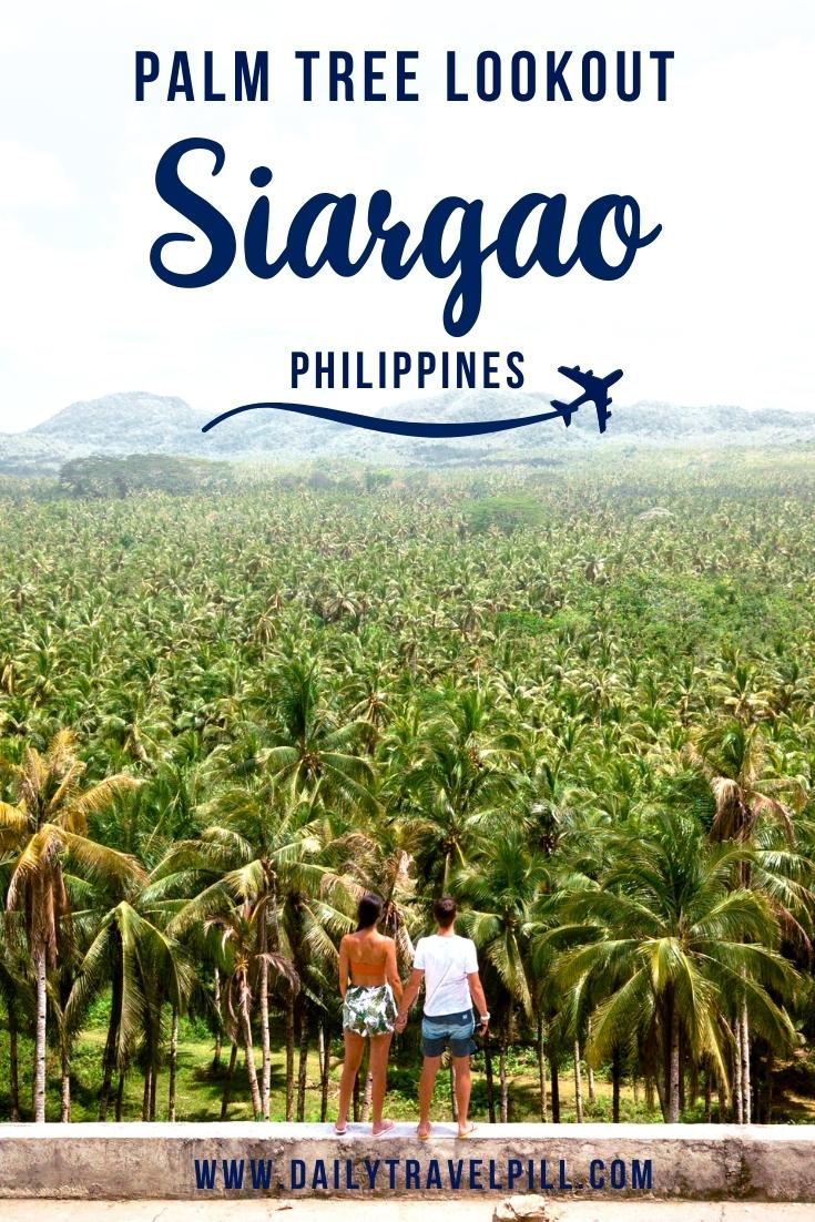 Siargao Palm Tree Lookout, Siargao Coconut Tree viewpoint, palm trees Siargao, Siargao coconut tree Lookout