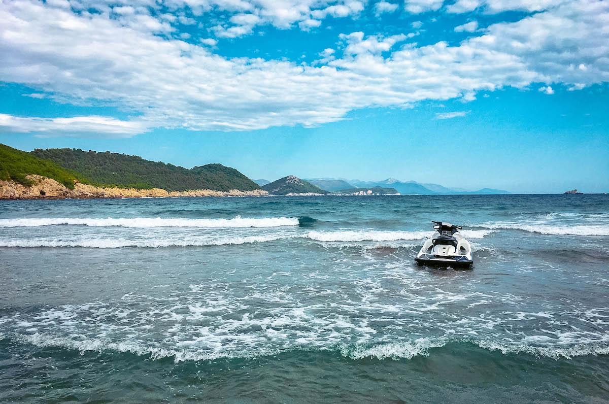 Sunj Beach Lopud Island - best beaches in croatia, top beaches in croatia, most beautiful beaches in croatia, hidden beaches in croatia
