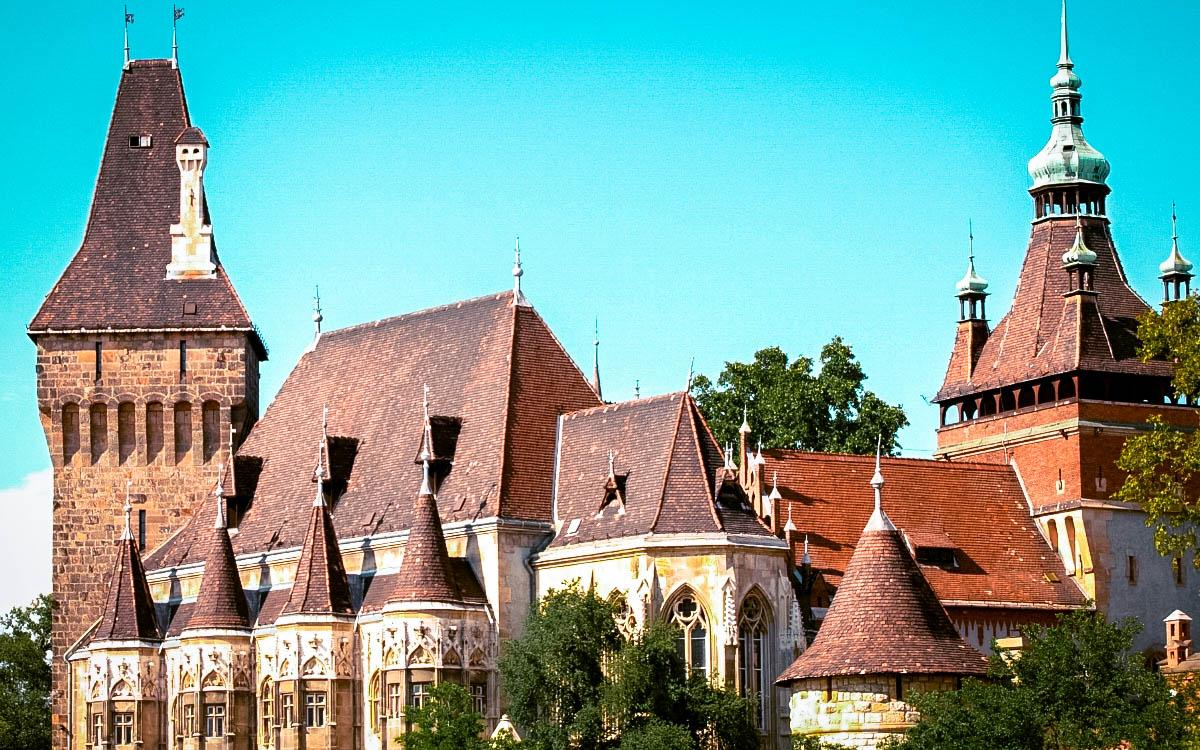 Vajdahunyad Castle, Hungary - the most beautiful castles in Europe, fairytale castles in Europe, top castles in Europe, must-visit castles in Europe. unique castles in Europe