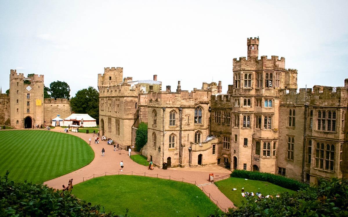 Warwick Castle, England - the most beautiful castles in Europe, fairytale castles in Europe, top castles in Europe, must-visit castles in Europe. unique castles in Europe