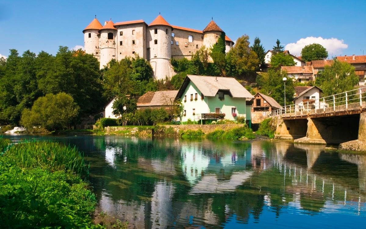 Zuzemberg Castle Slovenia