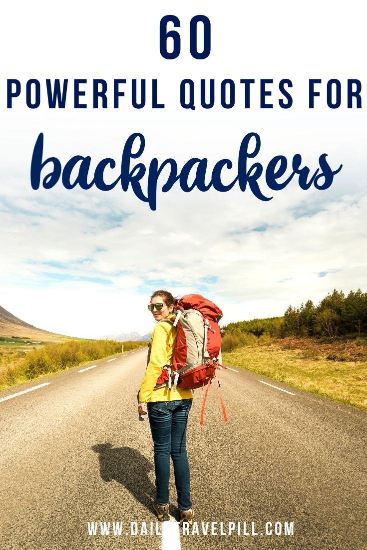 backpacking quotes, backpacking captions