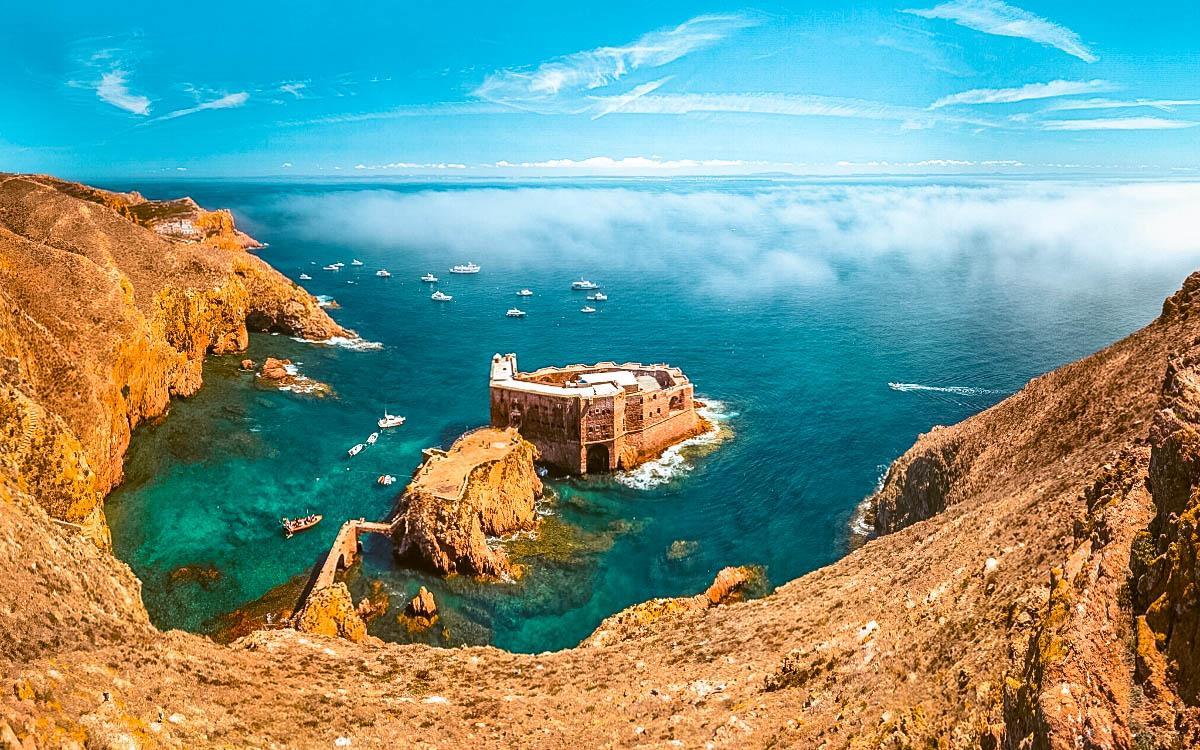 Berlengas Islands Leiria Portugal - fort