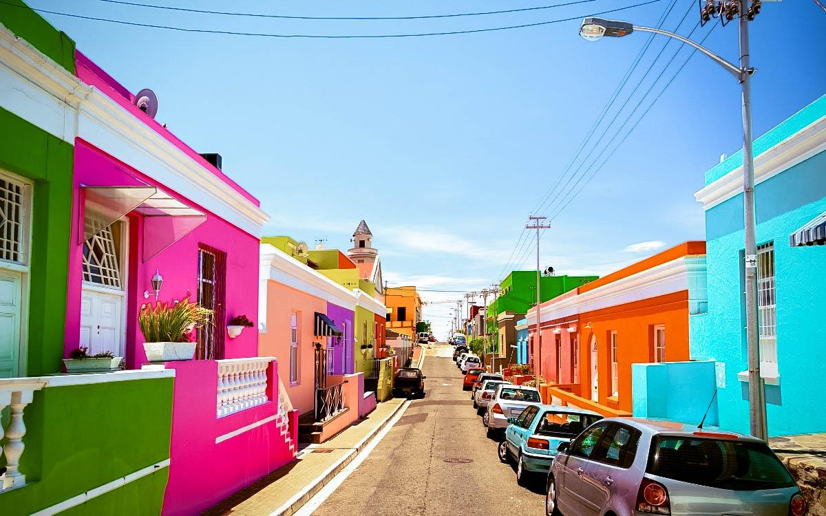 Bo Kaap South Africa - most colorful destinations in the world, vibrant cities, colorful cities, colorful earth, vibrant places around the world