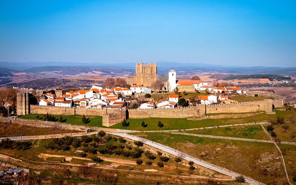 Braganca village Portugal