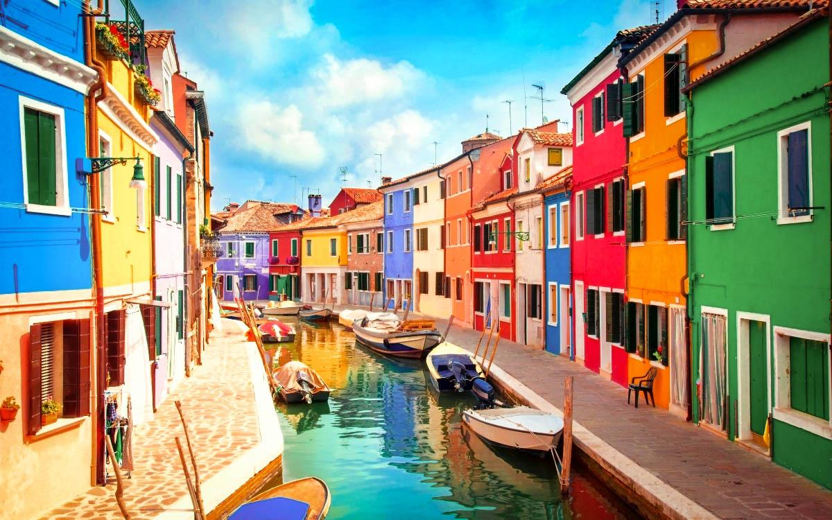 Burano Italy colorful village - most colorful destinations in the world, vibrant cities, colorful cities, colorful earth, vibrant places around the world