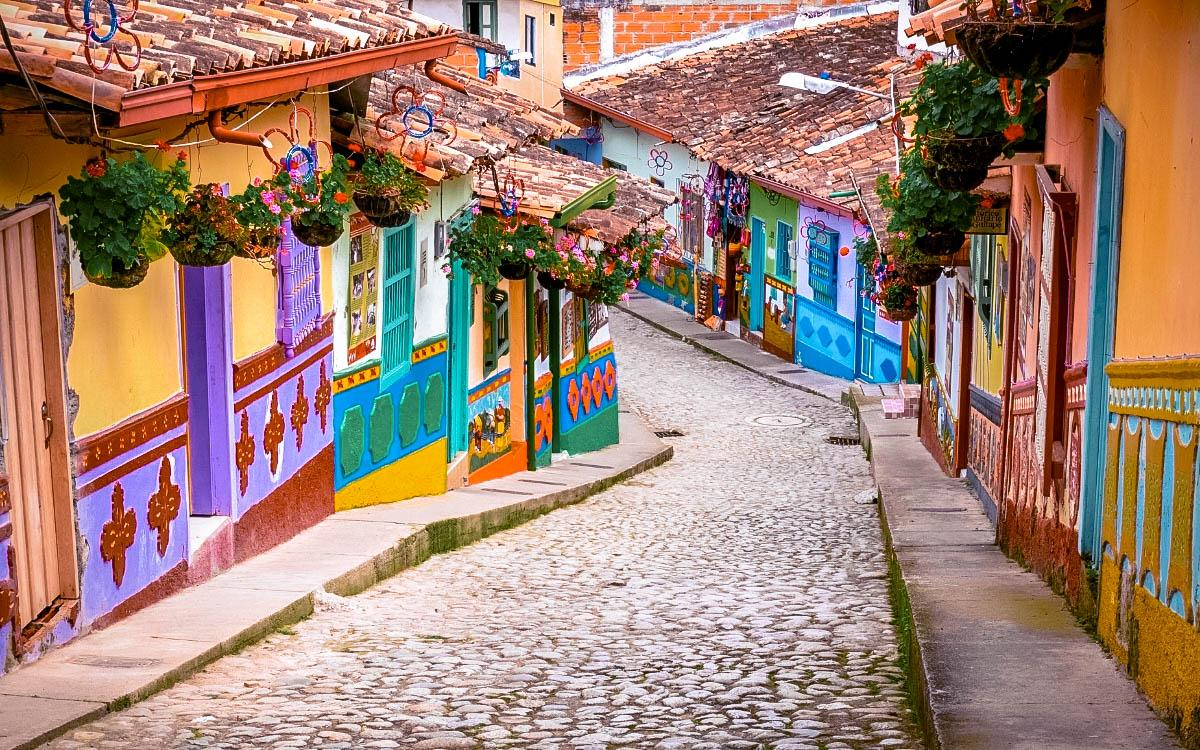 Guatape Colombia - most colorful destinations in the world, vibrant cities, colorful cities, colorful earth, vibrant places around the world