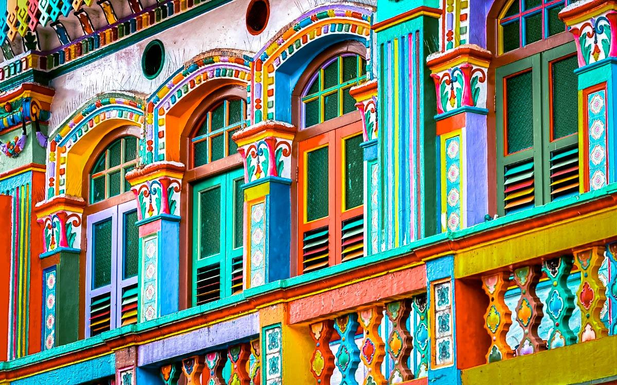 Little India, Singapore - most colorful destinations in the world, vibrant cities, colorful cities, colorful earth, vibrant places around the world