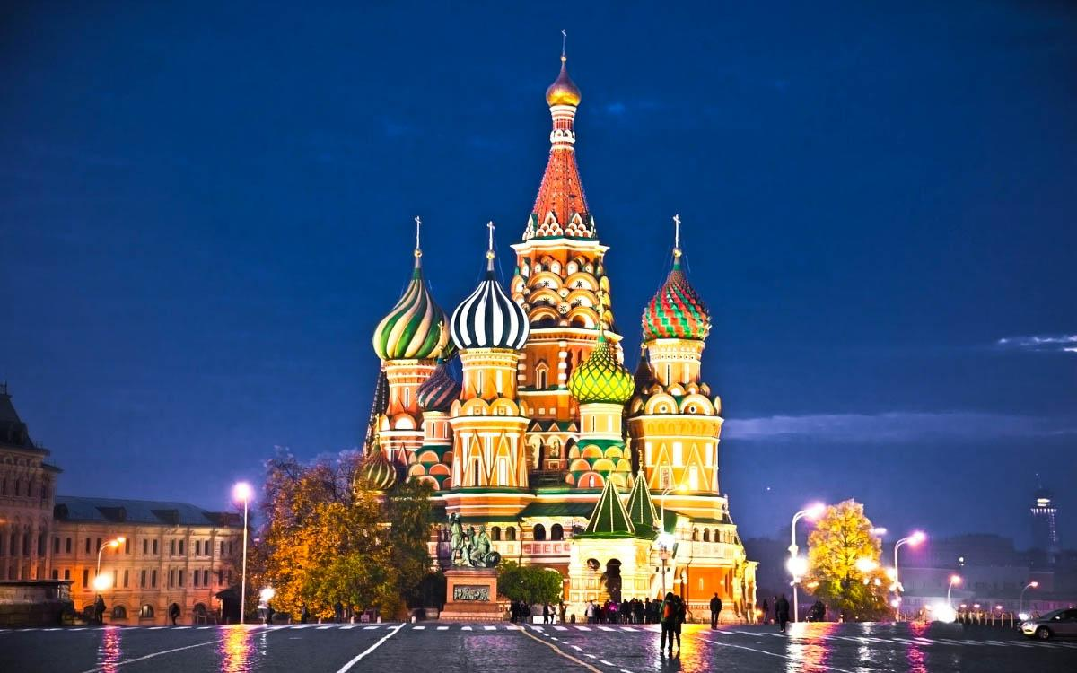 Moscow Russia - most colorful destinations in the world, vibrant cities, colorful cities, colorful earth, vibrant places around the world