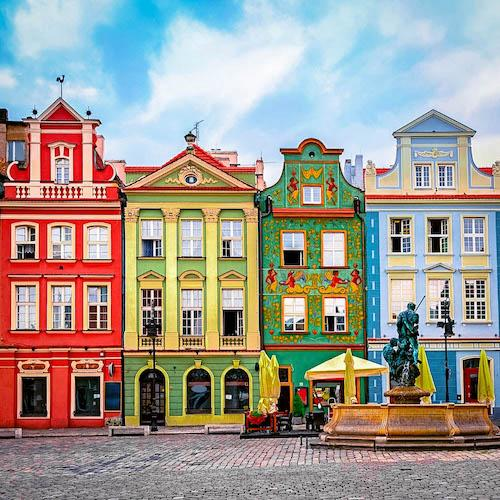 50 Most Colorful Destinations Around the World + MAP
