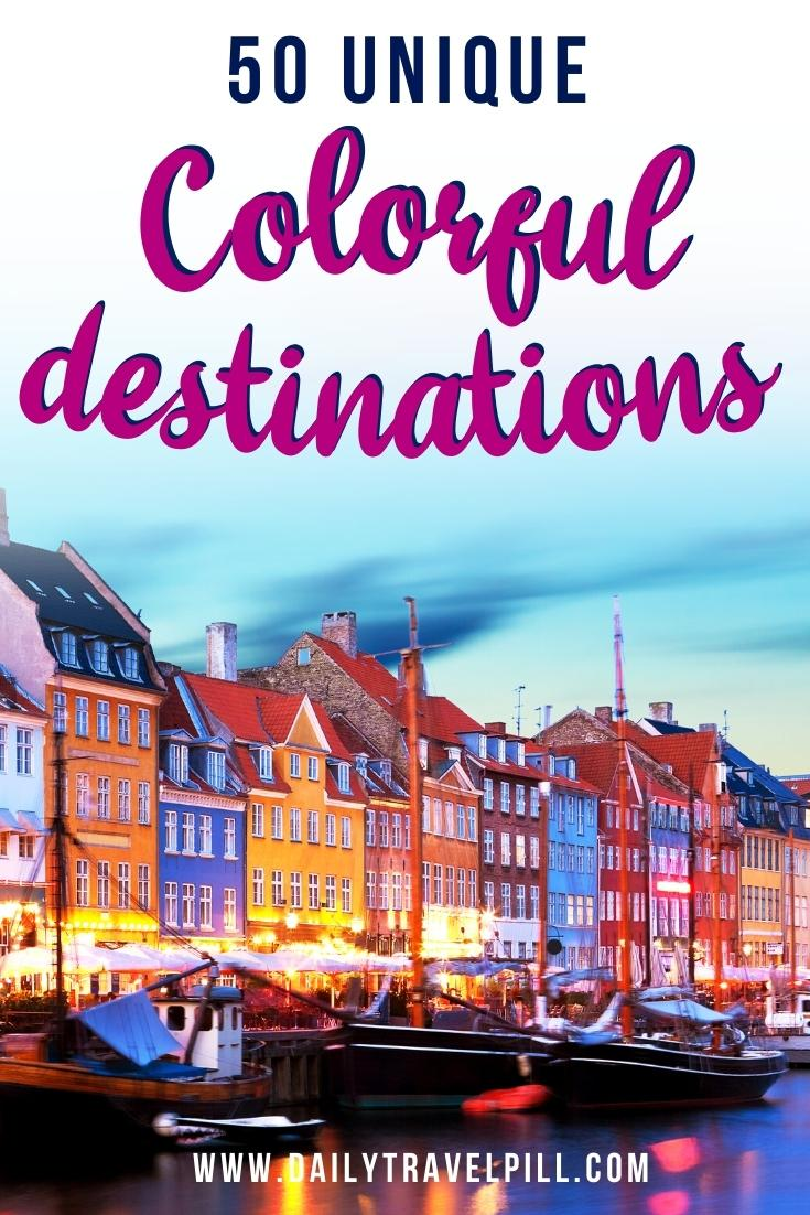 most colorful destinations in the world, vibrant cities, colorful cities, colorful earth, vibrant places around the world