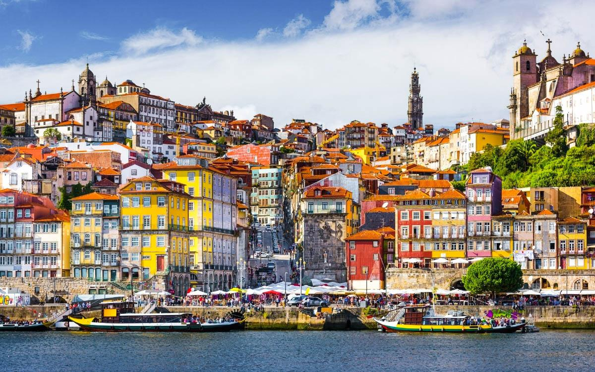 Porto colorful azuljeos houses - most colorful destinations in the world, vibrant cities, colorful cities, colorful earth, vibrant places around the world