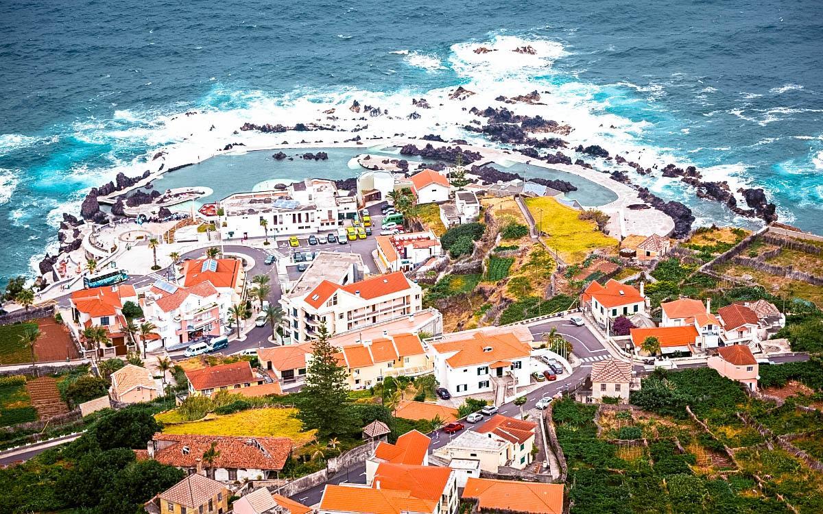 Porto Moniz pools Portugal