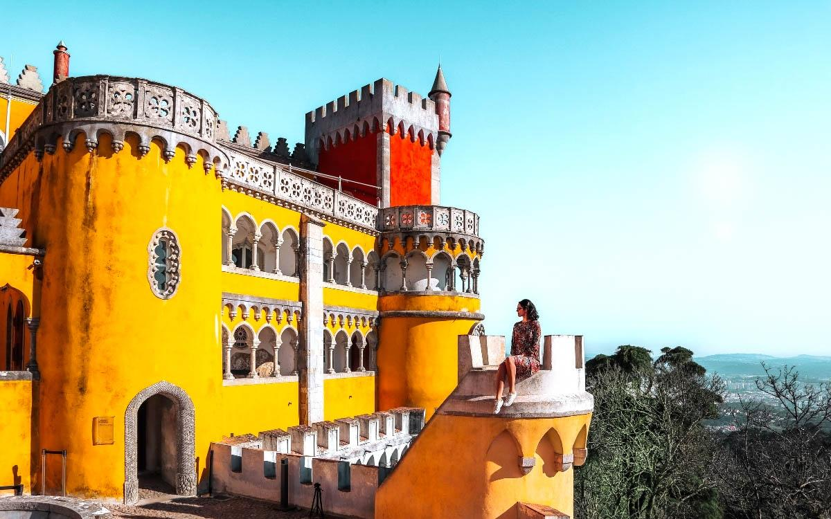 Pena Palace Sintra, Portugal