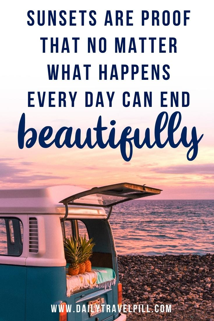 sunset beach quotes, beach quotes about sunsets, inspirational beach quotes, unique beach quotes